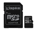 Paměťová karta Kingston Canvas Select MicroSDHC 16GB UHS-I U1 (80R/10W) + adapter