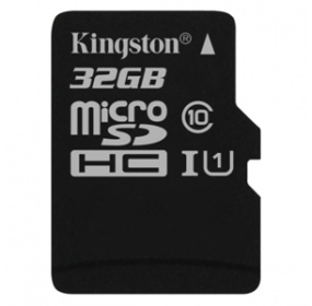 Paměťová karta Kingston Canvas Select MicroSDHC 32GB UHS-I U1 (80R/10W)