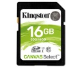 Paměťová karta Kingston Canvas Select SDHC 16GB UHS-I U1 (80R/10W)